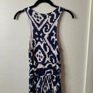Anthropologie Dresses - Anthropologie Maeve Maxi Dress Size Small Navy
